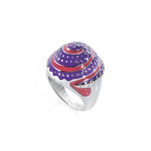 Miss Sixty Swirl Cup Cake Ring