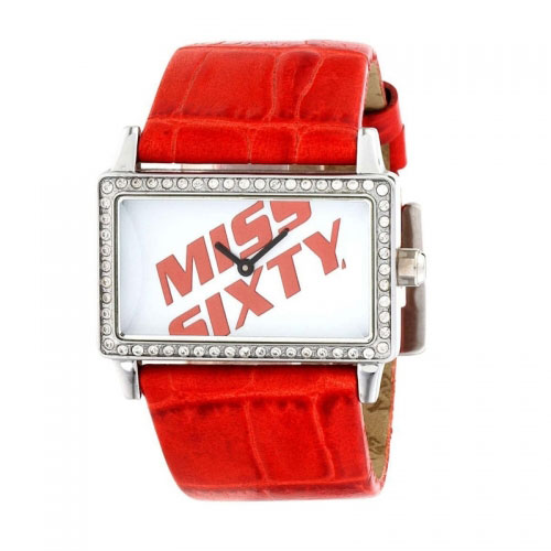 Miss Sixty Square Red Watch