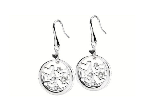 Miss Sixty Together Drop Earrings