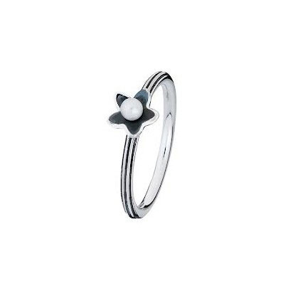 Spinning Jewelry Water Lily Stackable Ring 13914
