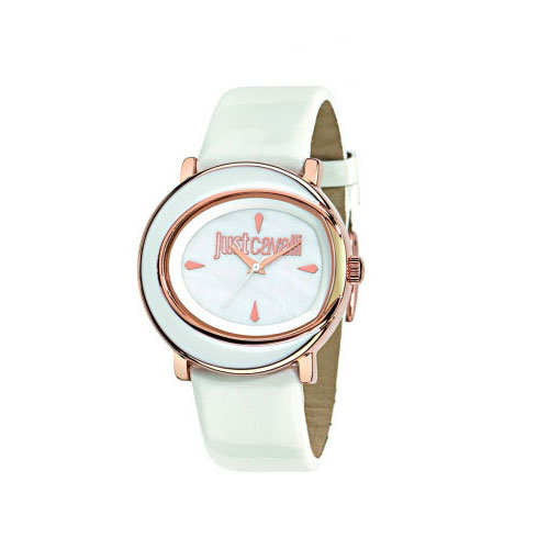 EX-DISPLAY Just Cavalli White Lac Watch R7251186507A
