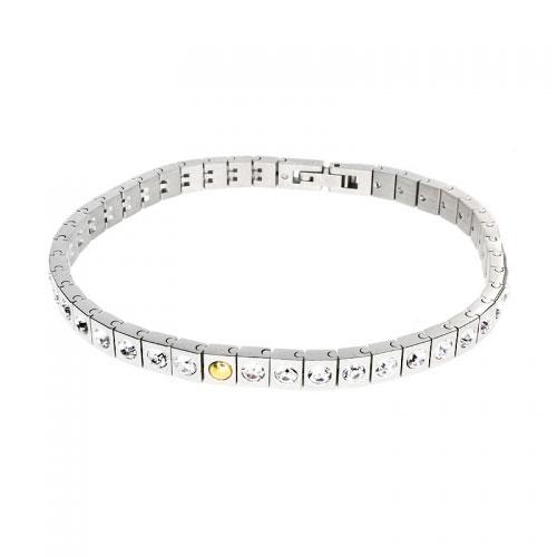 Morellato Square Link Crystal Set Bracelet
