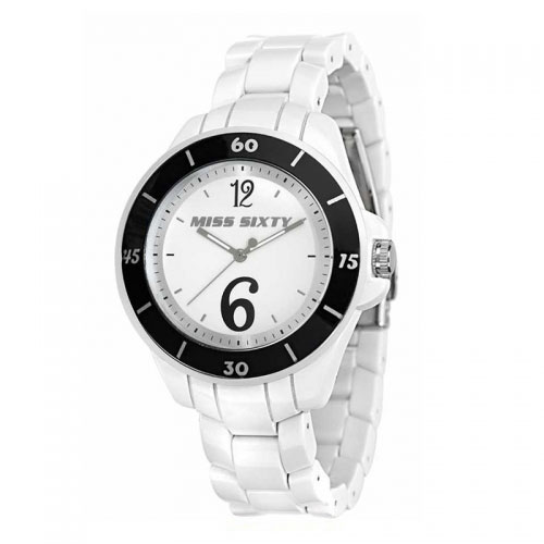 Miss Sixty Sugar White and Black Watch