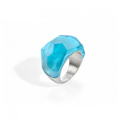 Miss Sixty Blue Facted Ring