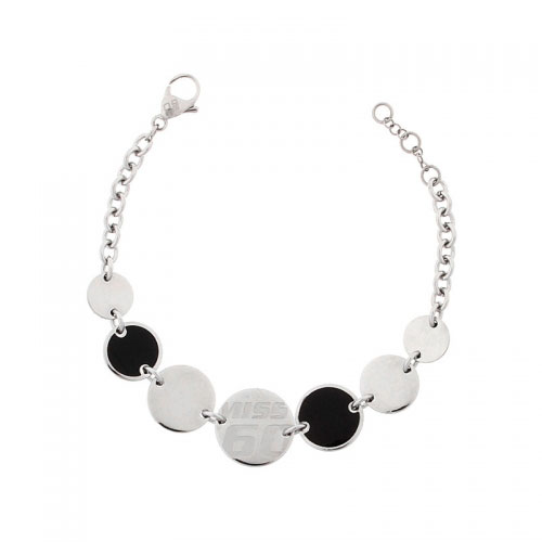 Miss Sixty Paillettes Black Bracelet