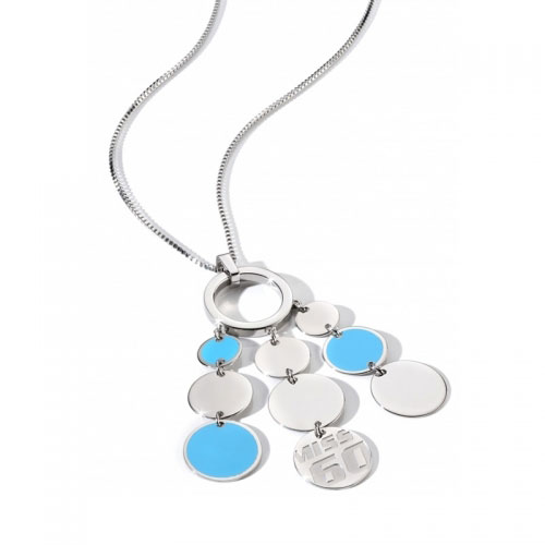 Miss Sixty Paillettes Turquoise Necklace