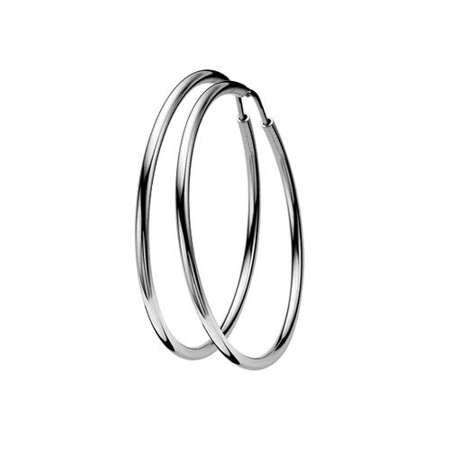 Zinzi Sterling Silver Earring Hoops