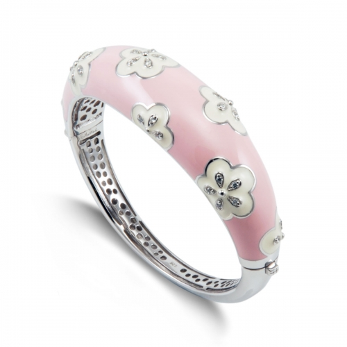 Belle Etoile Jasmine Pink Bangle