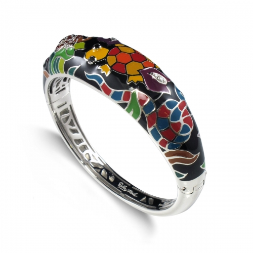 Belle Etoile Galapagos Black Bangle