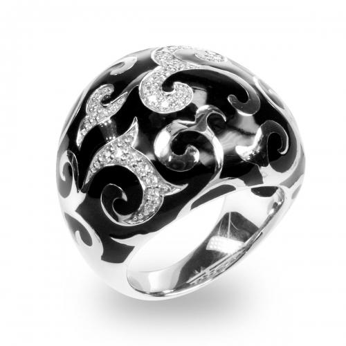 Belle Etoile Royale Black Ring