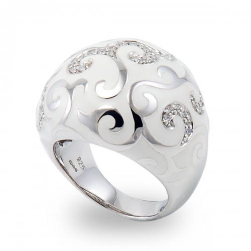 Belle Etoile Royale Silver Ring