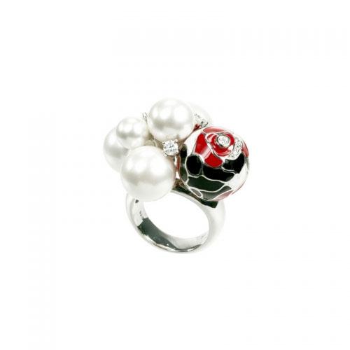Belle Etoile Botanique Red Ring