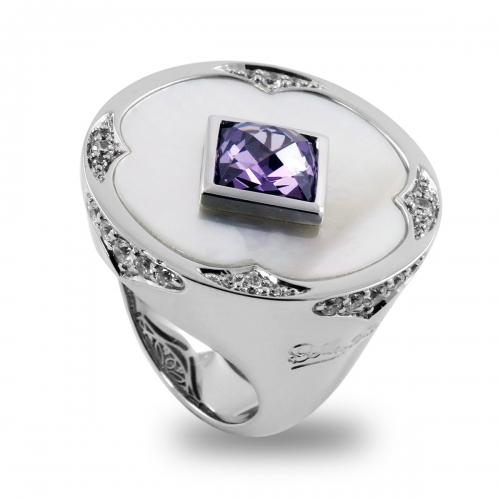 Belle Etoile Dream Catcher Purple Ring