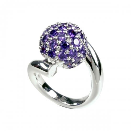 Belle Etoile Pop Purple Ring