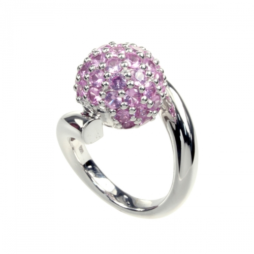 Belle Etoile Pop Pink Ring
