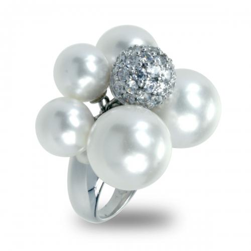 Belle Etoile Indulgence Silver Ring