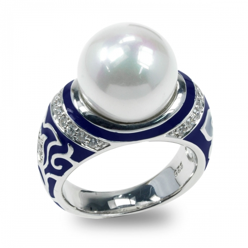 Belle Etoile Fortuna Blue Ring