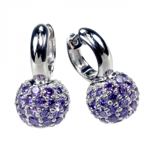 Belle Etoile Pop Purple Earrings