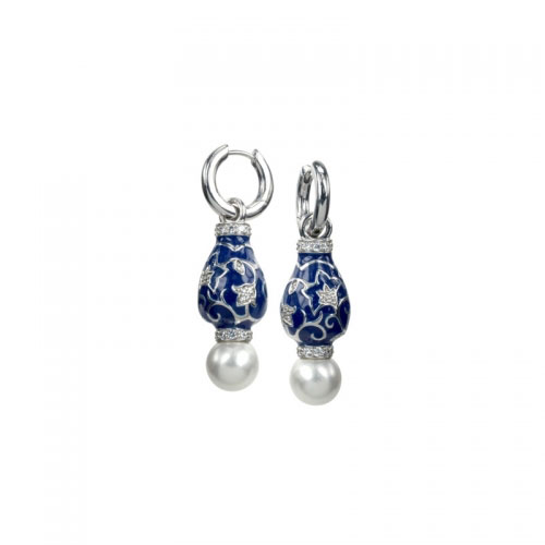 Belle Etoile Fortuna Blue Earrings