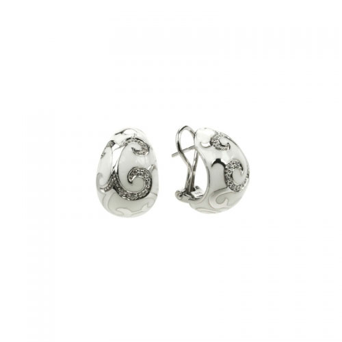 Belle Etoile Royale Silver Earrings