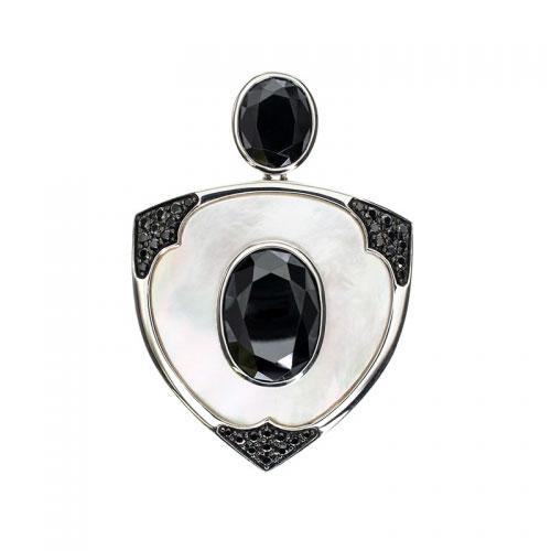 Belle Etoile Aegis Black Pendant
