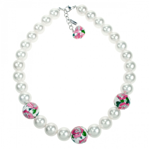 Belle Etoile Botanique Pink Necklace