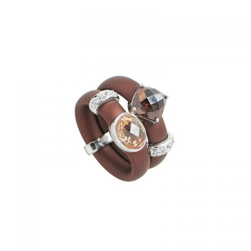 Belle Etoile Venezia Brown Ring