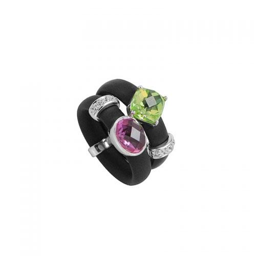 Belle Etoile Venezia Black Ring