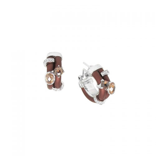 Belle Etoile Venezia Brown Earrings