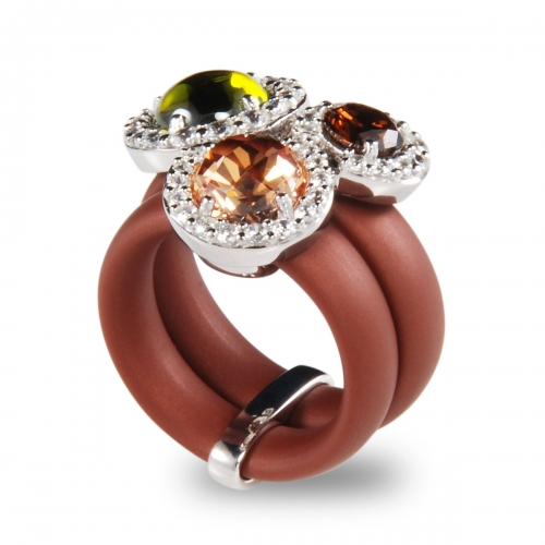 Belle Etoile Element Brown Ring