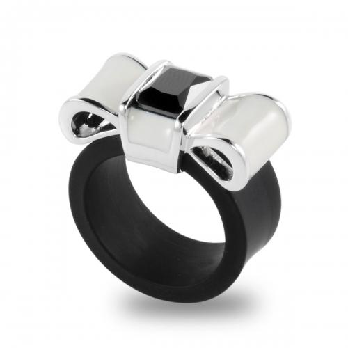 Belle Etoile Gala Black Ring
