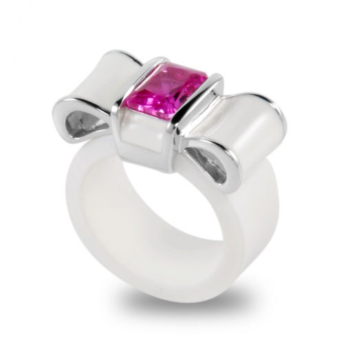 Belle Etoile Gala White Ring