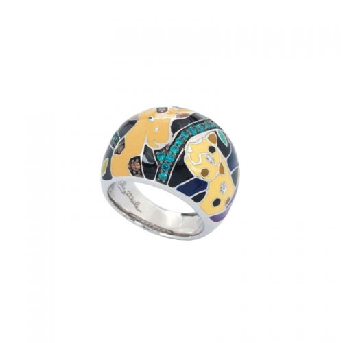Belle Etoile Safari Black Ring