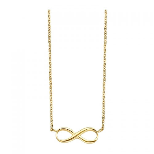 Claudine Infinity Gold Plated Necklace