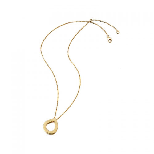 Kaytie Wu Gold Plated Water Drop Necklace