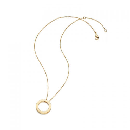 Kaytie Wu Gold Plated Circle Necklace