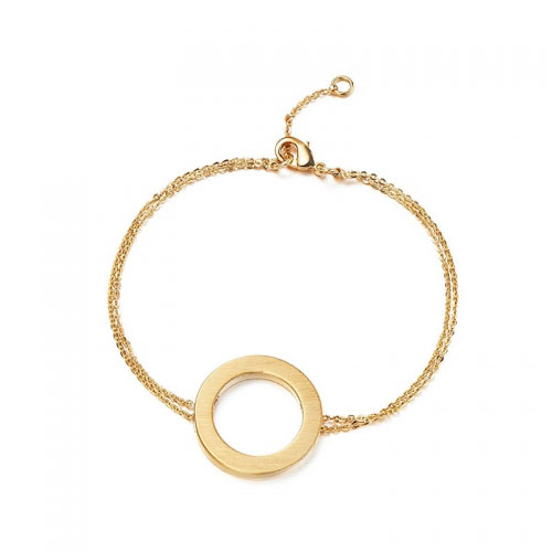 Kaytie Wu Gold Plated Circle Bracelet