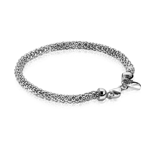 Zinzi Silver Link 19cm Bracelet