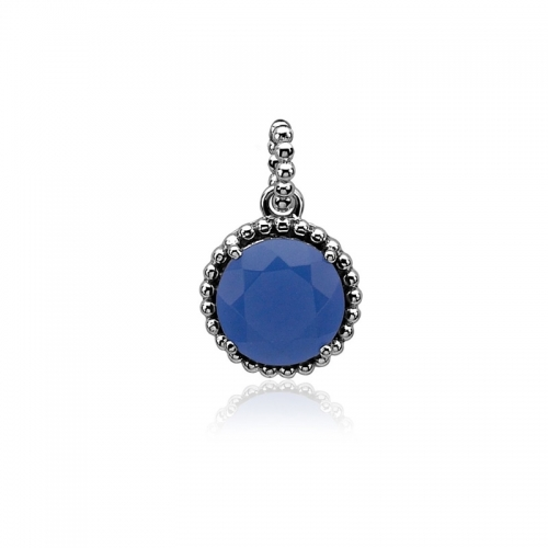Zinzi Blue and Silver Pendant