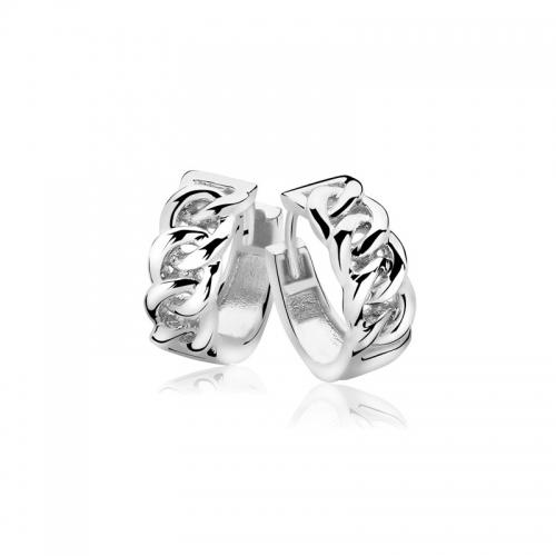 Zinzi Silver Plated Gourmet Earrings