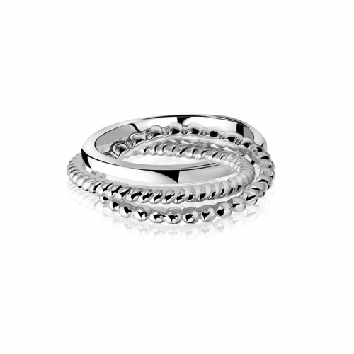 Zinzi 3 in 1 Silver Ring