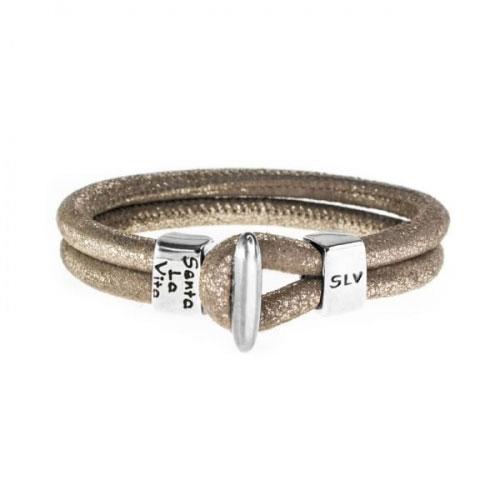 Senta La Vita Metallic Earth Charm Bracelet