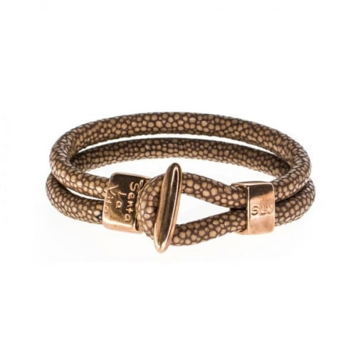 Senta La Vita Bronze Charm Bracelet