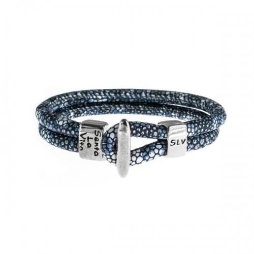 Senta La Vita Senta La Vita Stingray Blue Charm Bracelet