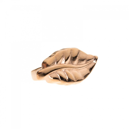 Senta La Vita Rose Gold Feather Charm