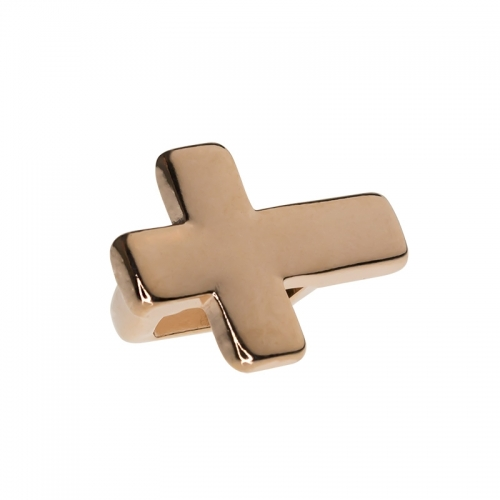 Senta La Vita Rose Gold Cross Charm