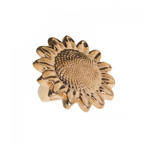 Senta La Vita Rose Gold Sunflower Charm