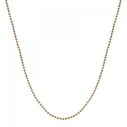 Senta La Vita Rose Gold Plated 45cm Bead Necklace