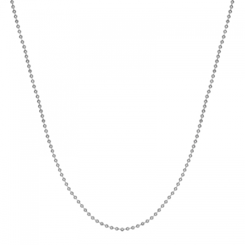 Senta La Vita Silver Colour 45cm Bead Necklace