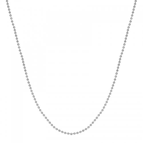 Senta La Vita Silver Colour 45cm Bead Necklace